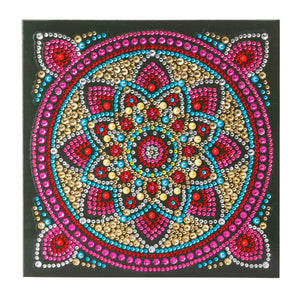 "CCK-A42 ""Mandala"" Crystal Art Card Kit"