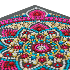 "CCK-A42 ""Mandala"" Crystal Card Kit"