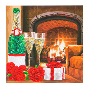 "CCK-A45 ""Celebration"" Crystal Art Card Kit"