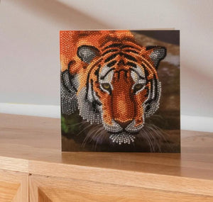 "CCK-A40 ""Tiger"" Crystal Art Card Kit"