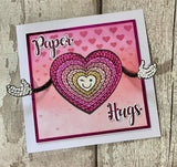 CCST17: Craft Buddy Paper Hugs A5 Crystal Art Stamp Set