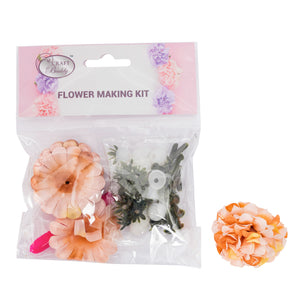 Flower Making Kit - Camellia - Beige - BB01BG