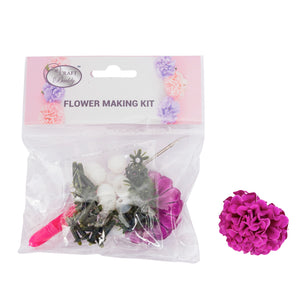 Flower Making Kit - Camellia - Violet - BB01VL