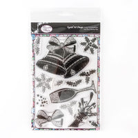 Simply Celebration - Crystal Art A5 Christmas Stamp Set