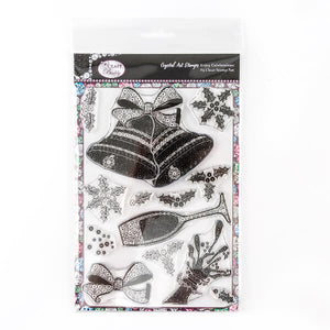 Simply Celebration - Crystal Art A5 Christmas Stamp Set - CCST6