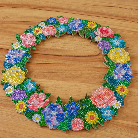 Crystal Art Summer Wreath Kit - CAW-SP1