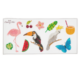 Tropical Sticker Set of 10