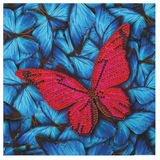 "CCK-A41 ""Butterfly"" Crystal Art Card Kit"