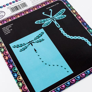 Gem It - Dragonfly Dance Die Set -2 Dies