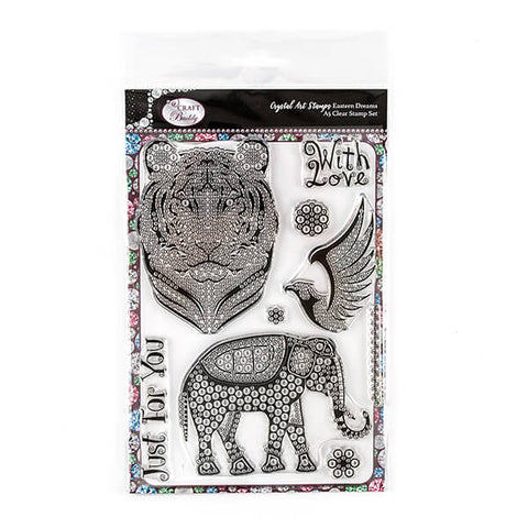 Eastern Dream A5 Crystal Art Stamp Set - CCST4