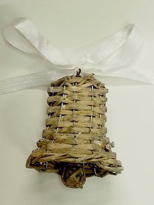7cm Rattan Wicker Willow Hanging Bell
