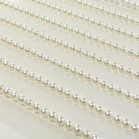 3mm Pearl Strips Self Adhesive Gems