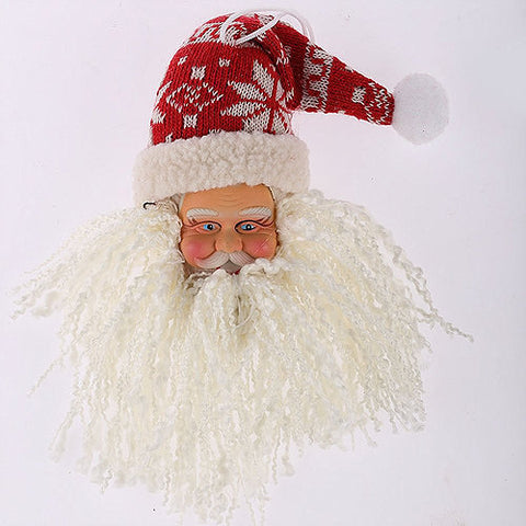 Santa Claus Head Christmas Tree Decorations