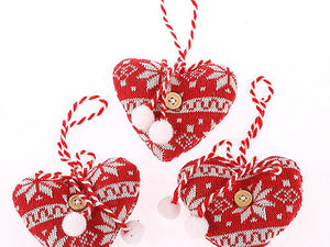 Heart Christmas Tree Decorations