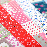 16 Self Adhesive A4 Patchwork Fabric Sheets