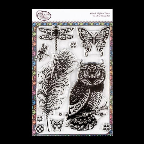 Gem It - Flight of Fancy Stamp Set