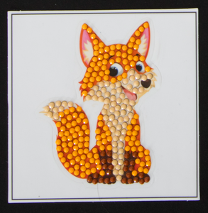 "Cheeky Fox -  ""Christmas"" Crystal Art Motifs – (With Tools)"