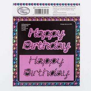 Gem It - Happy Birthday Die Set -2 Dies