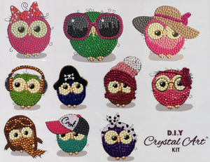 Owl Life Sticker Set of 10