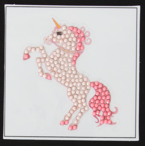 "Fairytale Unicorn -  ""Christmas"" Crystal Art Motifs – (With Tools)"