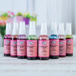 Craft Buddy Watercolour Spray Inks - Set of 8