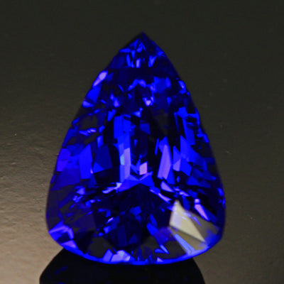 Tanzanite Angular Pearshape 11.45 Carats
