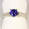 Tanzanite Ring 1.08 Carat BVE Color