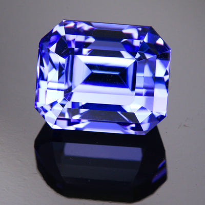 Tanzanite Emerald Cut 16 Carat