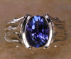 Ladies' Tanzanite Ring 2.90 Carat Blue Violet Vivid Color