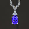 Tanzanite Pendant 1.30 Carat AAA Color