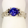 Tanzanite Ring Designed By Christopher Michael 1.73 Carat BVE Color