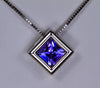 Tanzanite Pendant .65 Carat BVV Color