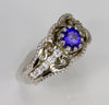Tanzanite Ring Designed By Christopher Michael .85 Carat