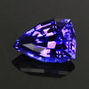 6.55 Carats Stepped Shield Tanzanite