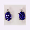 Tanzanite Earrings 3.68 Carat BVV Color