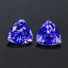 5.02 ct Tanzanite Trilliant Earrings: Customize Your Own