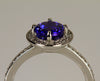 Platinum Tanzanite Ring 1.57 Carats