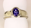 Tanzanite Ring .91 Carat Designed By Christopher Michael