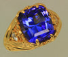 """Best of Show"" Designed Tanzanite Ring by Christopher Michael"