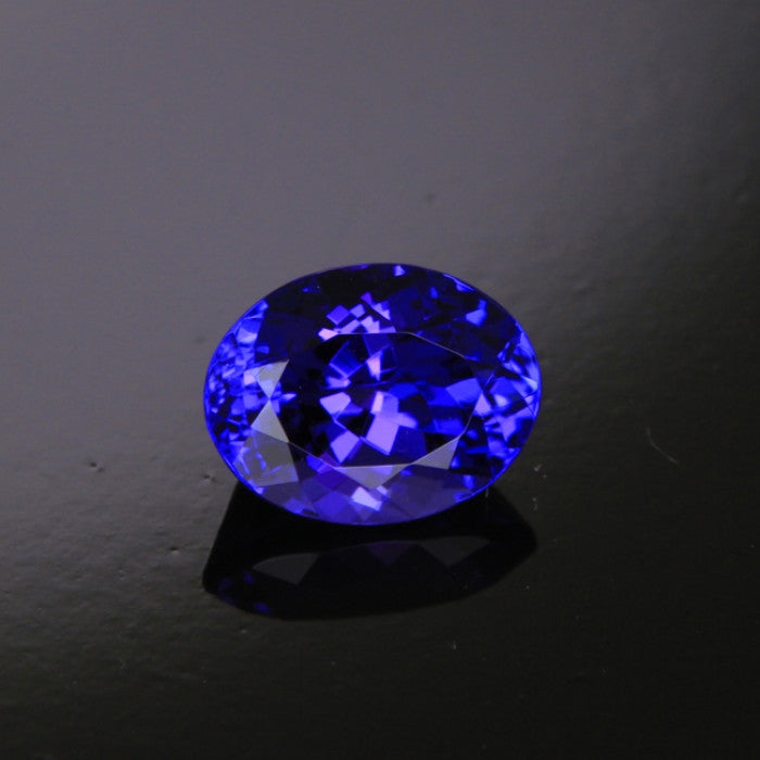 egl certified blue gemstone loading itm is tanzanite cut loose image violetish cushion about jewellery details