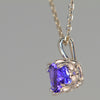 Exceptional Color Tanzanite Pendant 1.77 Carats