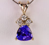 Tanzanite Pendant 1.54 Carat BVV Color