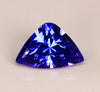 Shield Cut Tanzanite 1.34 Carat Violet Blue Vivid Color