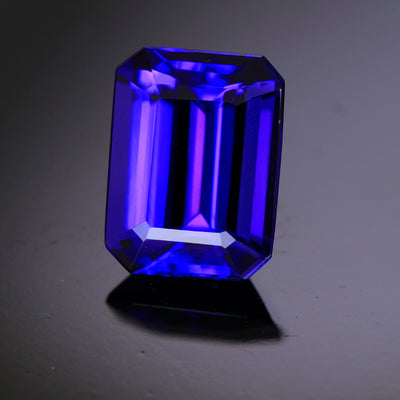 18K Yellow Gold Men's Tanzanite Ring 9.57 Carats