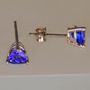 Top Color Trilliant Tanzanite Earrings