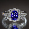 Christopher Michael Signature Tanzanite Ring