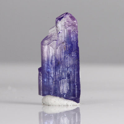 5.10 ct Unheated Bi-Color Multi Terminated Tanzanite Crystal