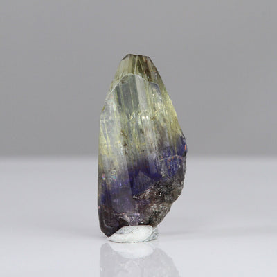 19.51ct Fancy Bi-Color Tanzanite Crystal