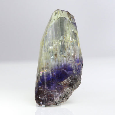 Bi-Color Tanzanite Crystal