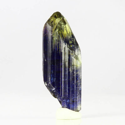 Yellow Blue Zoisite Crystal Mineral Specimen Tanzanite